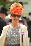 Horse racing,Ladies day at Ascot Stock Photo