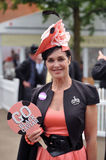 Horse Racing,Ladies day at Ascot. Go Black Caviar 23-6-12 - It is the highlight of the summer social calendar and nothing - not even the prospect of the stock image