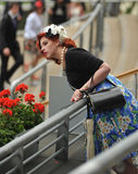 Horse Racing,Ladies day at Ascot. Lady's day at ascot 21-6-12 - It is the highlight of the summer social calendar and nothing - not even the prospect of the Stock Photography