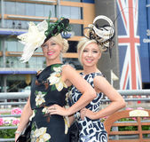 Horse racing,Ladies day at Ascot Stock Photos