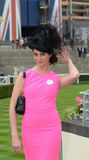 Horse racing,Ladies day at Ascot Stock Image