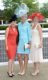 Horse racing,Ladies day at Ascot Royalty Free Stock Photos