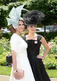 Horse racing,Ladies day at Ascot. Fashion at Ascot Races 19-6-14 royalty free stock photos