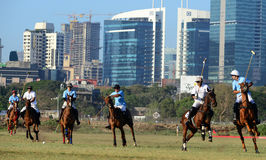 Horse Racing in Mumbai Stock Photo