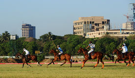 Horse Racing in Mumbai Royalty Free Stock Photos