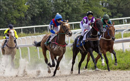 Horse racing in Pyatigorsk Royalty Free Stock Photography
