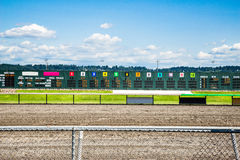 Horse racing results Royalty Free Stock Photography