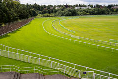Horse Race Course Track Stock Photo