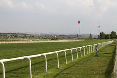 Horse Racing Track Royalty Free Stock Images
