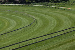 Horse Racing Track Corner  Royalty Free Stock Photo
