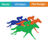 Horse ride icon Stock Image