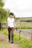 Horse rider Stock Photography