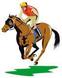 Horse and rider Royalty Free Stock Photos