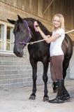 Horse rider and horse Royalty Free Stock Photos