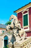 Horse rider statue Royalty Free Stock Photos