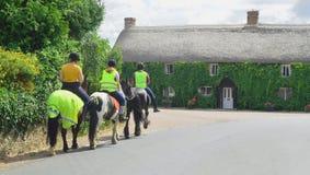 Horse riders Stock Photos