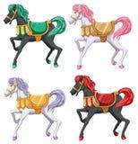 Horse rides Stock Photo