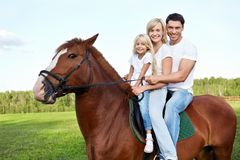 Horse-riding Royalty Free Stock Photography