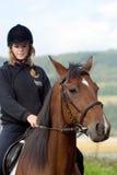 Horse riding royalty free stock photos