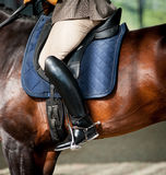 Horse riding detail. Close up Royalty Free Stock Photography