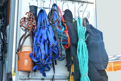 Horse riding equipment. Horse riding equipment for sale Royalty Free Stock Photos