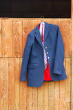 Horse riding jacket stock image