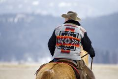 Horse Roundup Stock Photography