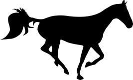Horse running Royalty Free Stock Image