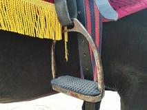 Horse& x27; s wspornik zdjęcie stock