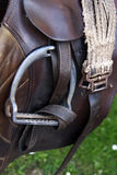 Horse saddle Royalty Free Stock Photography