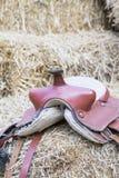 Horse saddle background Royalty Free Stock Photo