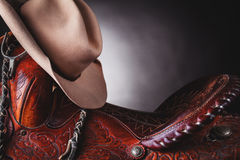 Horse saddle Stock Photo