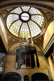 Horse sculptur in the Lucerna passage of Prague - Czech Republic Royalty Free Stock Photo