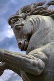 Horse sculpture Stock Images