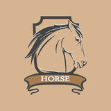 Horse Shield Royalty Free Stock Photos