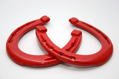 Horse shoe Stock Images