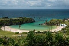 Horse Shoe Bay Bermuda Stock Photography