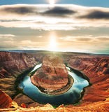 Horse Shoe Bend Royalty Free Stock Photos