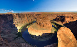 Horse Shoe Bend, Arizona USA. Stock Photos