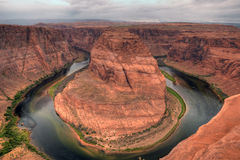 Horse Shoe Bend. Glen Canyon northern Arizona Royalty Free Stock Photo