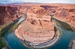 Horse shoe canyon Stock Image