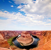 Horse Shoe at the Grand Canyon Royalty Free Stock Photography