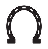 Horse shoe vector icon. Vector illustration of the Horse shoe icon Stock Image