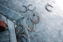 Horse shoes Royalty Free Stock Images