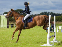 Horse Show Jumping Event. Gymkhana. Stock Photography