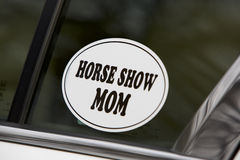 Horse Show Mom Stock Photography