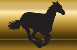 Horse silhouette Royalty Free Stock Image