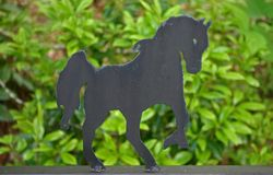 Horse Silhouette Stock Photos