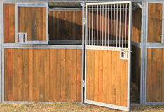 Horse stable Stock Photography