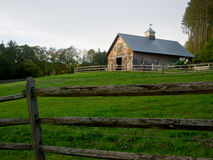 Horse Stable and pasture land Royalty Free Stock Images